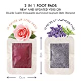 Foot Pads to Remove Impurities - FDA Certified All Natural Body Cleansing Foot Patch - Aids Rapid Pain Relief & Improved Sleep - Organic Aromatherapy Premium Pads - Upgraded 2 in 1 (20ct)