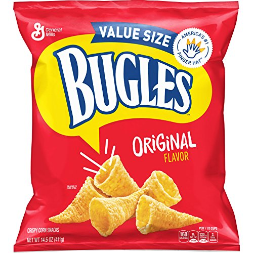 Bugles Original Flavor Snack Mix Bag, 14.51 Ounce