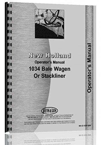 New Holland 1034 Bale Wagon Operators - Holland Bale New