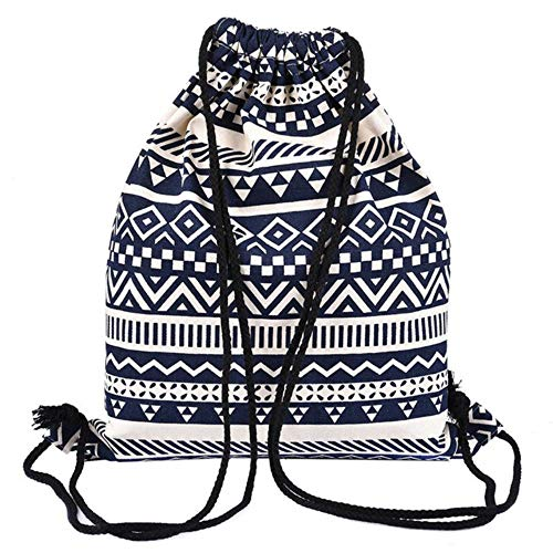 33 x 40Cm Girls Shoulder Bags Women Canvas/Cotton Backpack B