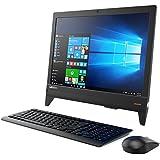 【Officeセット】 19.5型液晶一体型PC Lenovo ideacentre AIO 310 Windows10 Celeron デュアルコアCPU 4GB 500GB DVDスーパーマルチ 高速無線LAN IEEE802.11ac/a/b/g/n Bluetooth USB3.0 HDMI webカメラ ステレオスピーカー SDカードスロット搭載 10キー付日本語キーボード&マウス付 カラー/ブラック