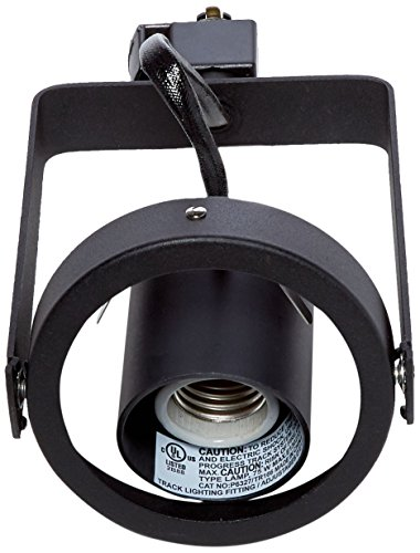 Progress Lighting P6327-31 High Tech Track Head, Black High Tech Track Fixture