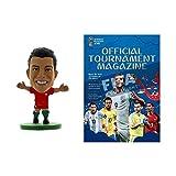 2018 World Cup - Official Program & Ronaldo Portugal SoccerStarz Combo Pack