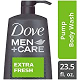 Dove Men+Care Body and Face Wash Pump for Dry