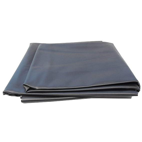 Estanque pantalla PVC 1/mm negro en 4/m x 7/m