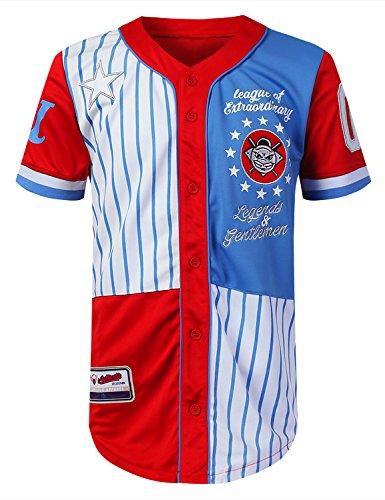 Red Baseball Jersey - 7