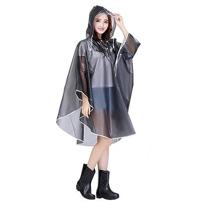 Poncho Avec Pour Randonnée Anti Cape Vêtement Imperméable Pluie Camping Manteau Veste Femme Moto Capuche Vélo qzMUSVGjpL