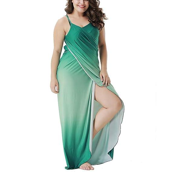 Vestido Playa Mujer Talla Grande Bikini Cover Up Beachwear ...