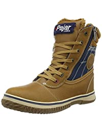 Pajar Men's Trooper Snow Boots, Cognac/Navy