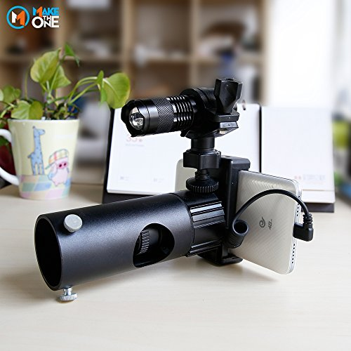IR Infrared Night Vision Torch 5W 4 Chips 850nm Hunting Flashlight- Infrared Light is Invisible to Human Eyes -To be used with Night Vision Device With 18650 Battery by MAKE THE ONE (Image #5)