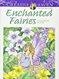 Creative Haven Enchanted Fairies Coloring Book (Adult Coloring)