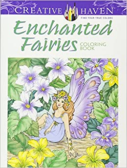 creative haven enchanted fairies coloring book creative haven coloring books - Creative Haven Coloring Books