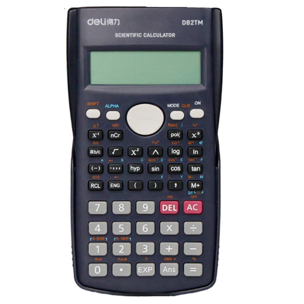 Office Supplies Scientific 12-bit Function Calculator, Multi-Function Student Computer, Portable Financial Special Calculator, Suitable for Engineering Examination Accounting Complex Statistics ZDDAB by Office Supplies