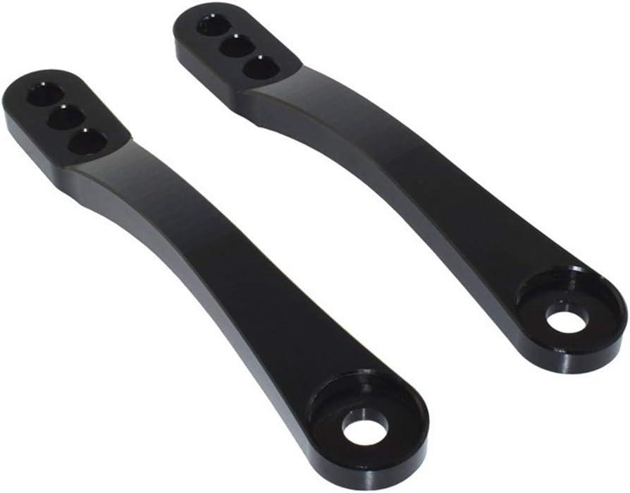 Gray Easygo Motorcycle Rear Shock Suspension Lowering Linkage Drop Links Kit 4 for KAWASAKI Ninja ZX14 ZX14R ZX-14 ZX-14R ZZR1400