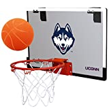 NCAA Connecticut Huskies Game On Hoop Set, 18 X 12', Blue