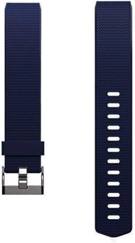Dunfire Replacement Bands for Fitbit Charge 2 Wristband//Bracelet//Smart-Watch Size Large and Small Straps for Men and Women