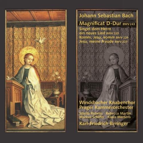 Price comparison product image Bach: Magnificat; Singet dem Herrn ein neues Lied; Komm, Jesu, komm