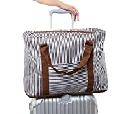 Foldaway Duffel Bag Holdall Clothes Packing Organizer Tote Travel Storage Bag