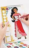 Disney Elena of Avalor Sketch Book Art Kit Craft for Kids