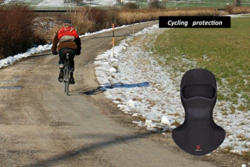 Zakerda Balaclavas Headwear Face Mask Ski Mask Bicycle Mask Riding Motorcycle Mask Flexible Free Size Breathable Windproof Rainproof Keep Warm Outdoor (Color 4) by Zakerda (Image #5)