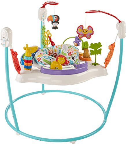 Fisher-Price Animal Activity Jumperoo, Blue by Fisher-Price (Image #3)