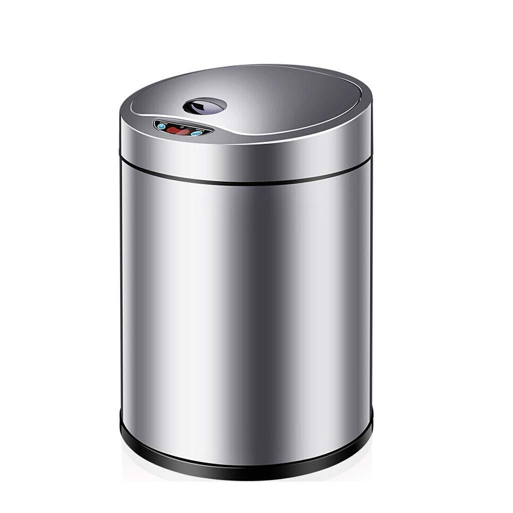自動誘導ごみ箱ホームスマートエレクトリカルフリップサニタリーバケツ