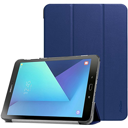 ProCase Galaxy Tab S3 9.7 Case, Slim Light Smart Cover Stand Hard Shell Case for Galaxy Tab S3 9.7-Inch Tablet SM-T820 T825 (Navy Blue)