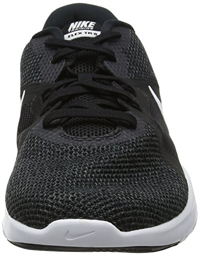 Black Nike Women's White Cross Trainer Flex 8 Anthracite SvSxXq