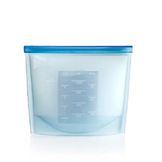 Bolsas de silicona reutilizables para frigorífico o congelador de ...
