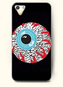 OOFIT Phone Case Design with Bloodshot Eyes for Apple iPhone 4 4s 4g