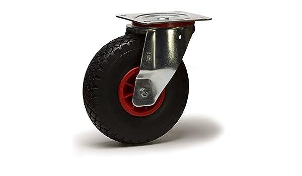 Roulette pneumatique pivotante 260mm - 135 Kg: Amazon.es ...