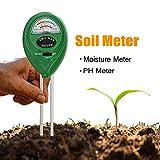 Soil PH Moisture Meter, Soil Tester Kit, Light&PH acidity Plant Meter Plant for Graden,Farming,Indoor/Outdoor