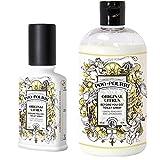 Poo-Pourri Before-You-Go Toilet Spray 4-Ounce Bottle, Original Scent + Poo-Pourri Before-You-Go Toilet Spray 16-Ounce Refill Bottle, Original