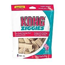 Kong 72178 Puppy Stuff'N Ziggies Small Dog Treat, 7-Ounce