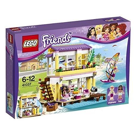 Lego Friends 41037 Stephanies Beach House Amazonca Electronics