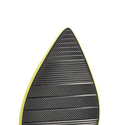 Solid Pu Zipper VogueZone009 FrauenSpikes Schwarz Pumps Stilettos Shoes qUn6t6T7
