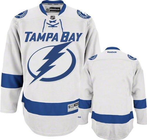 (Tampa Bay Lightning White Premier NHL Jersey)