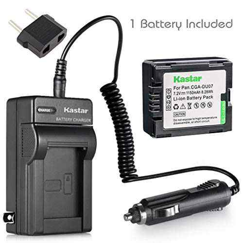 Cga Du14 Compatible Battery - Kastar 1 Pack Battery and Charger for Panasonic CGA-DU06 CGA-DU07 CGA-DU12 CGA-DU14 CGA-DU21 Batteries