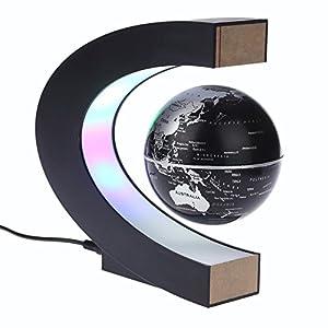 Regali di Compleanno per Bambini. mappamondo Galleggiante a levitazione con luci a LED Regalo per Uomini pap/à Zwindy Mappamondo Magnetico io Accessori per scrivania mappamondo mappamondo