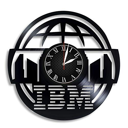 Used, BombStudio IBM Vinyl Record Wall Clock, IBM Handmade for sale  Delivered anywhere in USA