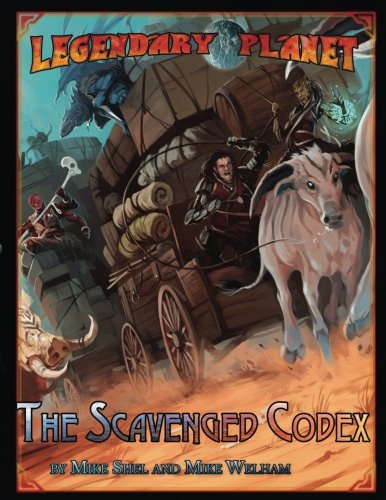 Legendary Planet: The Scavenged Codex (Volume 3)