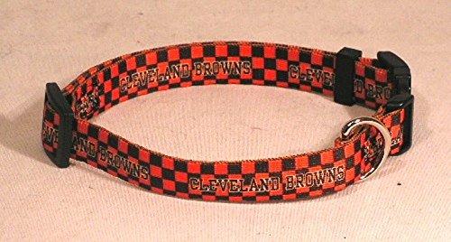 Hunter MFG Cleveland Browns Dog Collar, Medium
