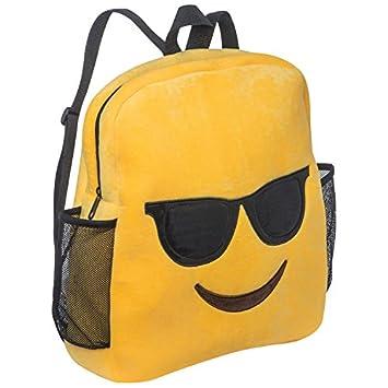 Emoji Emoticon Gafas de sol Mochila Mochila de peluche ...