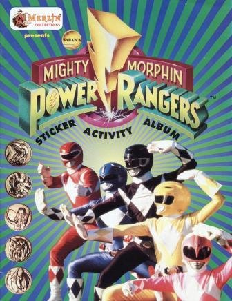 Saban's Mighty Morphin Power Rangers Sticker Activity Album (Merlin Collections Presents)