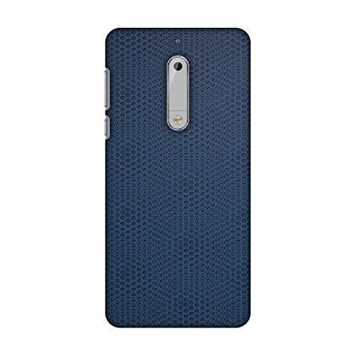 - AMZER Slim Fit Handcrafted Designer Printed Snap On Hard Shell Case Back Cover for Nokia 5 - Funky Dot Pop 1 HD Color, Ultra Light Back Case