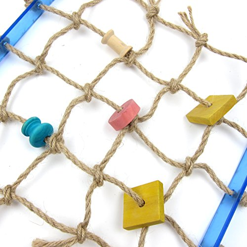 Alfie Pet by Petoga Couture - Kaelin Hanging Rope Ladder Toy for Birds by Alfie (Image #4)