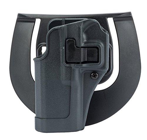 BLACKHAWK! Serpa CQC Gun Metal Grey Sportster Holster, Size 06, Left Hand, (Sig 220/226/228/229 w or w/o rail   )