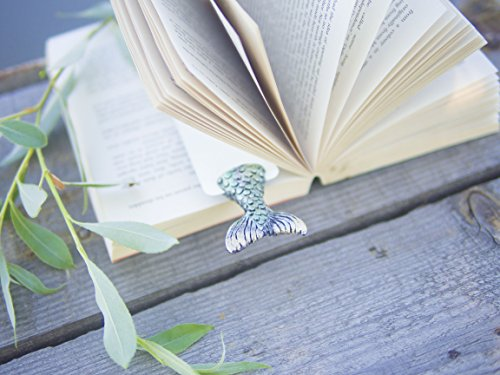 Mermaid handmade bookmark gifts. Awesome present for a bookworm, book lovers and book readers! Mermaid book marker collectibles! Great gift for her!