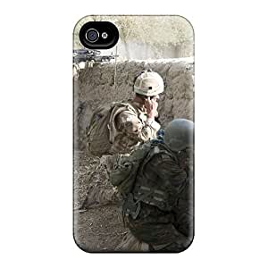 New Style Case Cover CLzVHkl7722SqkZb Army Military Compatible With Iphone 4/4s Protection Case