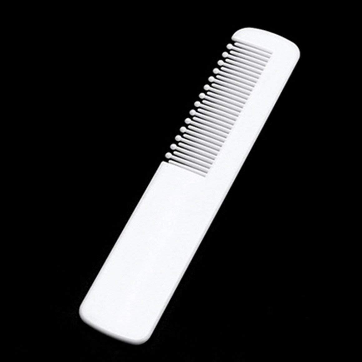 Funnyrunstore Juego de cepillos y peines para beb/és para reci/én nacidos Ni/ños peque/ños Seguridad infantil Kit de cuidado de la salud y aseo Kit de masaje para el cuero cabelludo Blanco